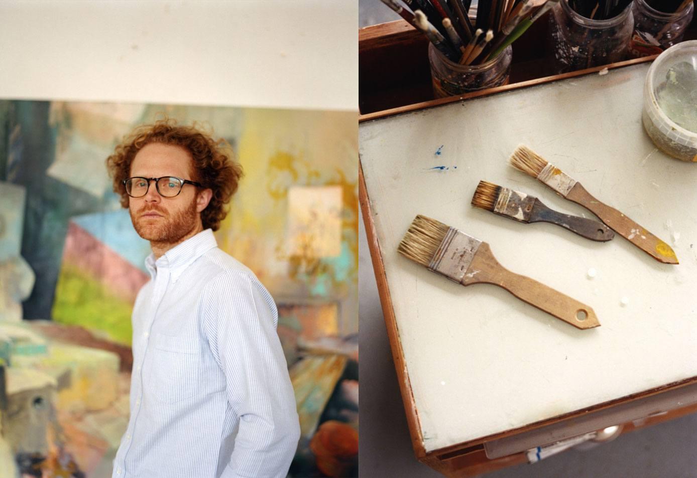 Artists in Shirts in Studios: Benjamin Deakin