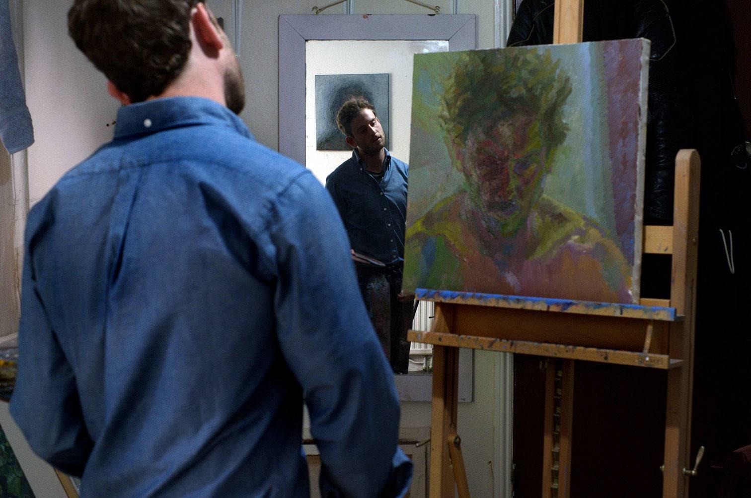 Artists in Shirts in Studios: Charlie Schaffer