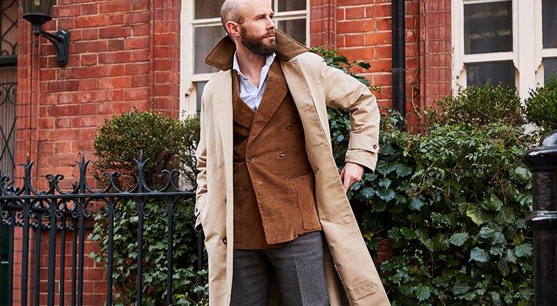 Simon Crompton on the Drake's Raincoat