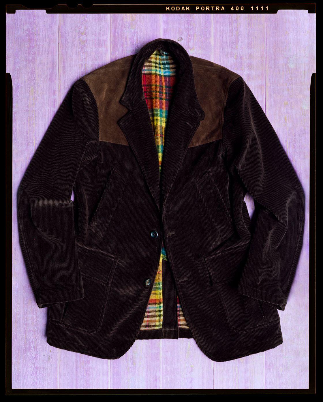 The Corduroy Games Coat