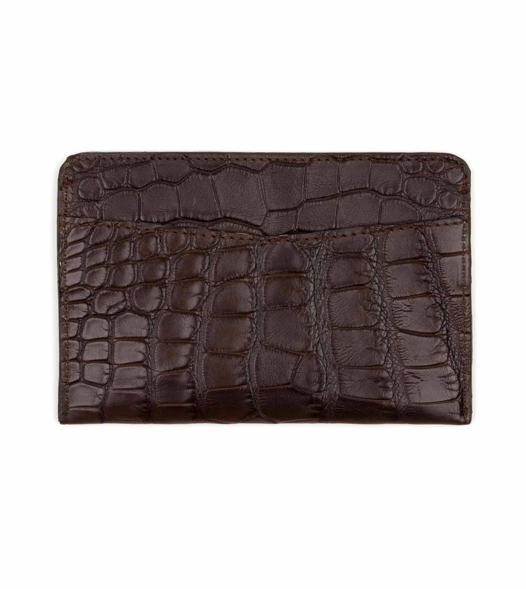 Alligator Leather ID Wallet