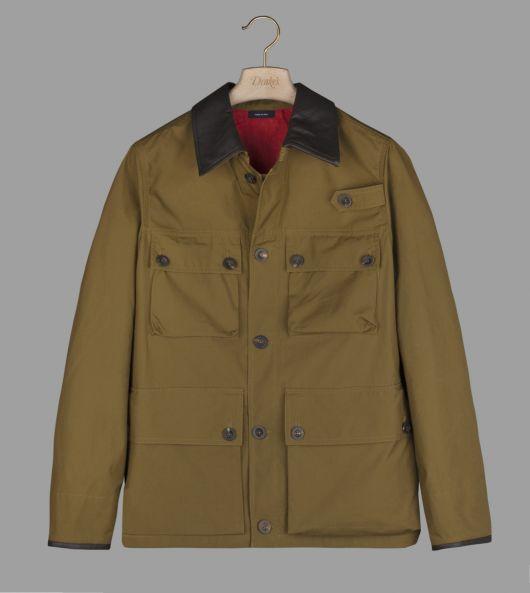 Khaki Cotton Tropical Stable Jacket