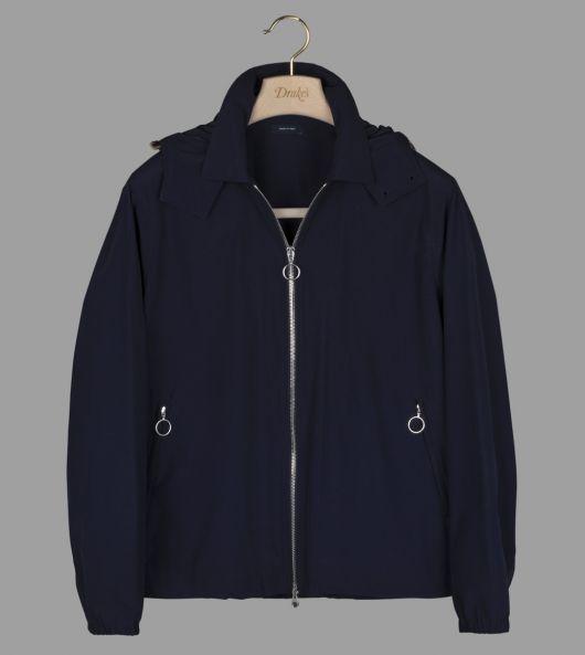 Navy Cotton Surf Breaker Jacket