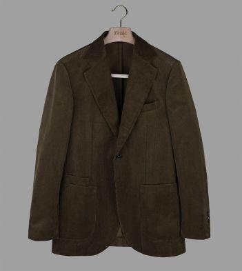 Green Mid-Wale Corduroy Jacket