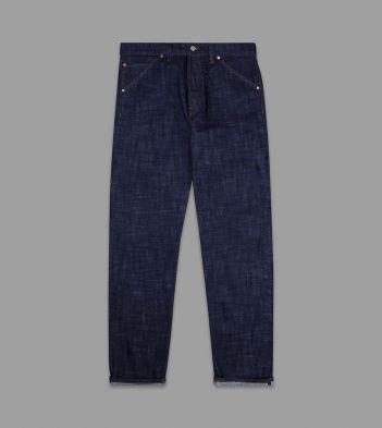 Stone Wash 14.2oz Japanese Selvedge Denim Five-Pocket Jeans