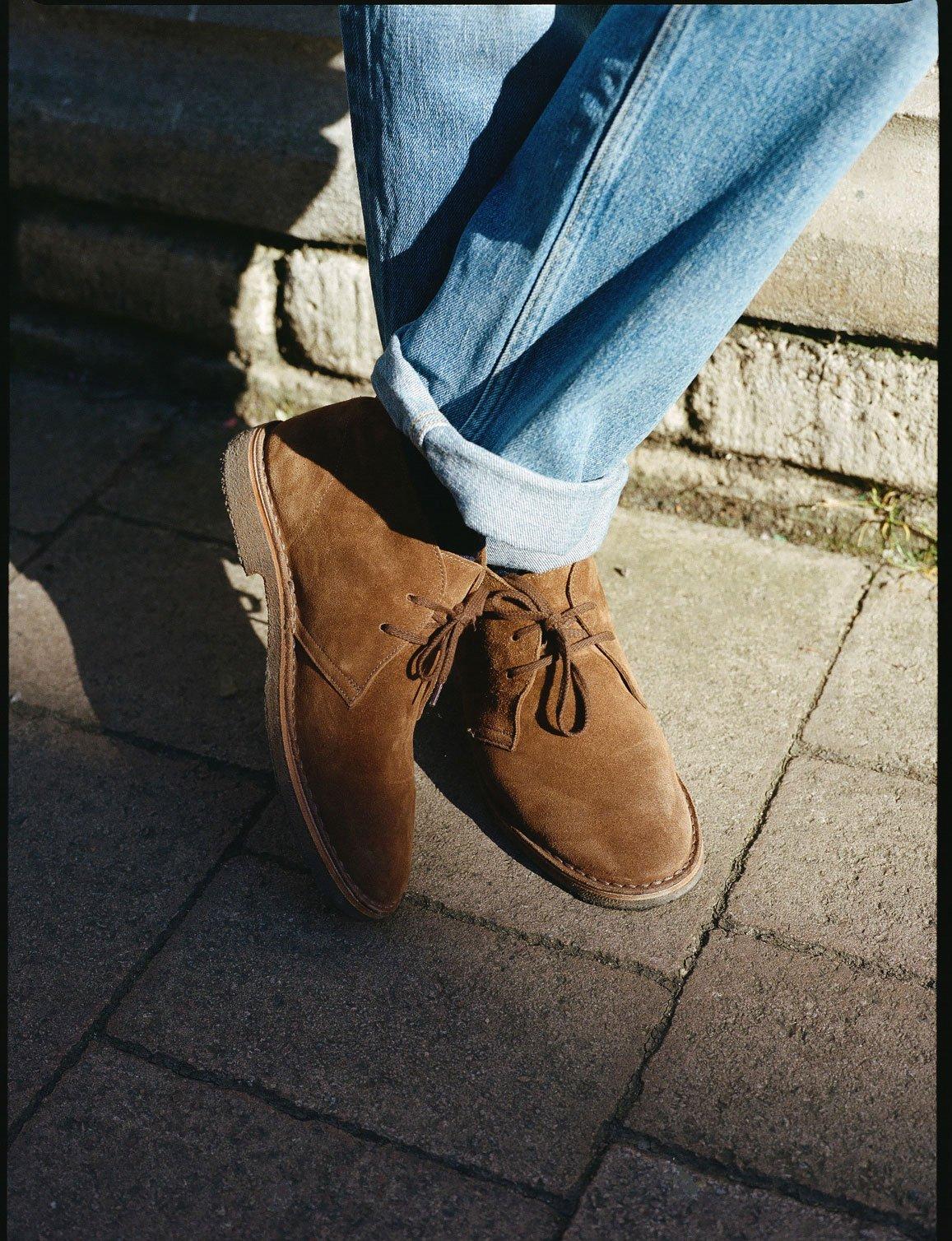 Clifford Suede Desert Boots